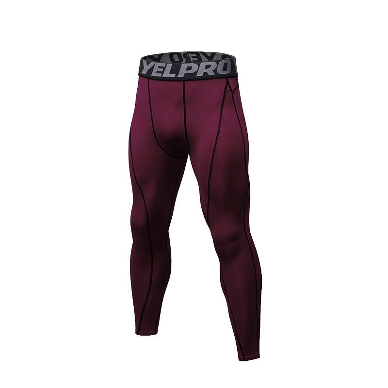 2017 New Compression Pants Men Bodybuilding Joggers Leggings Fitness Gyms Clothing Sporting Leggings Men Bottom Trousers