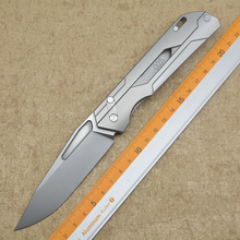 NEW SUECX Flipper folding knife M390 blade Titanium handle outdoor Tactical hunting camping survival pocket EDC tools