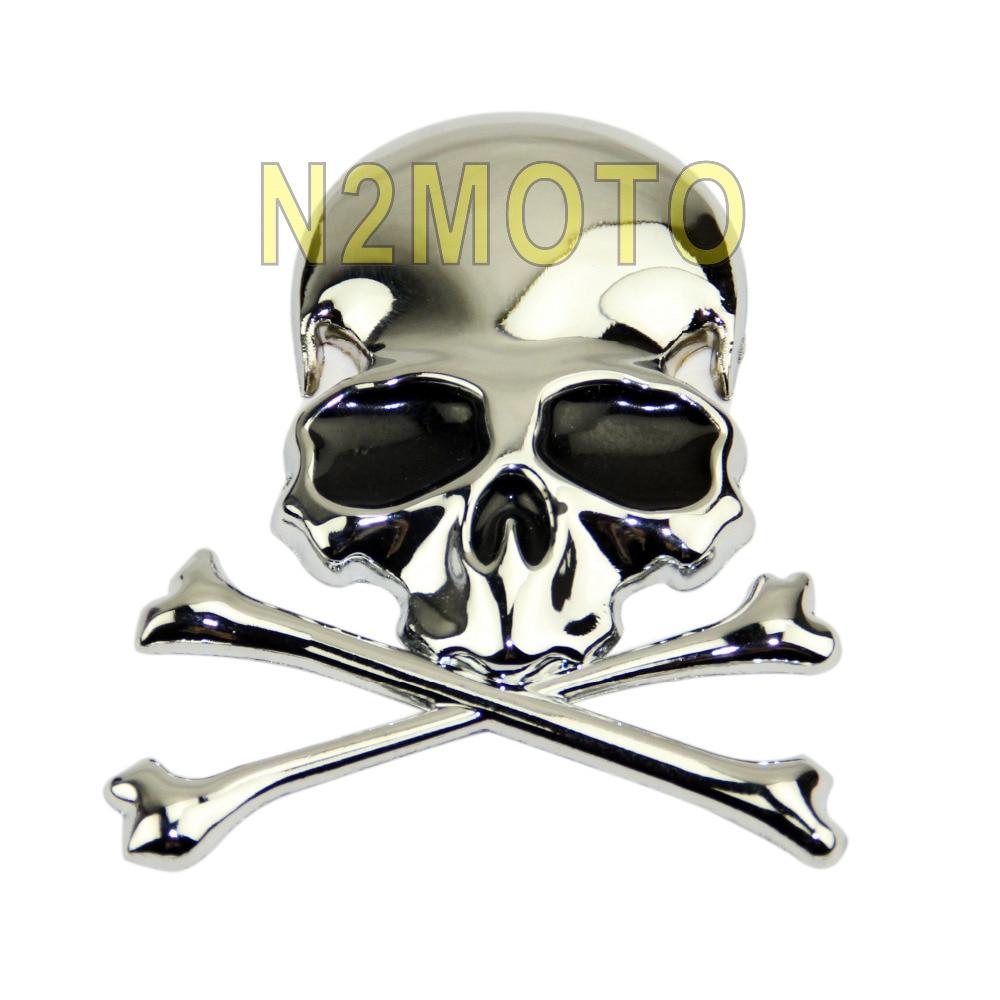 Popular Custom Motorcycle Skull StickersBuy Cheap Custom - Motorcycles stickers