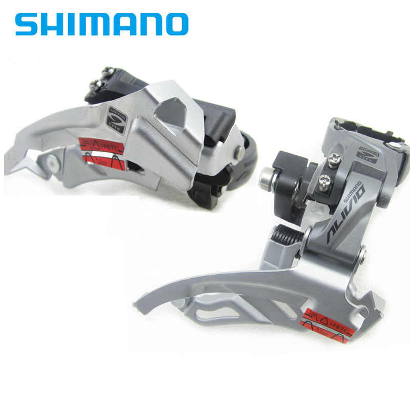 SHIMANO ALIVIO FD-M4000 Front Derailleur 3*9s 27s MTB bike derailleurs M4000 T4000 high low clamp