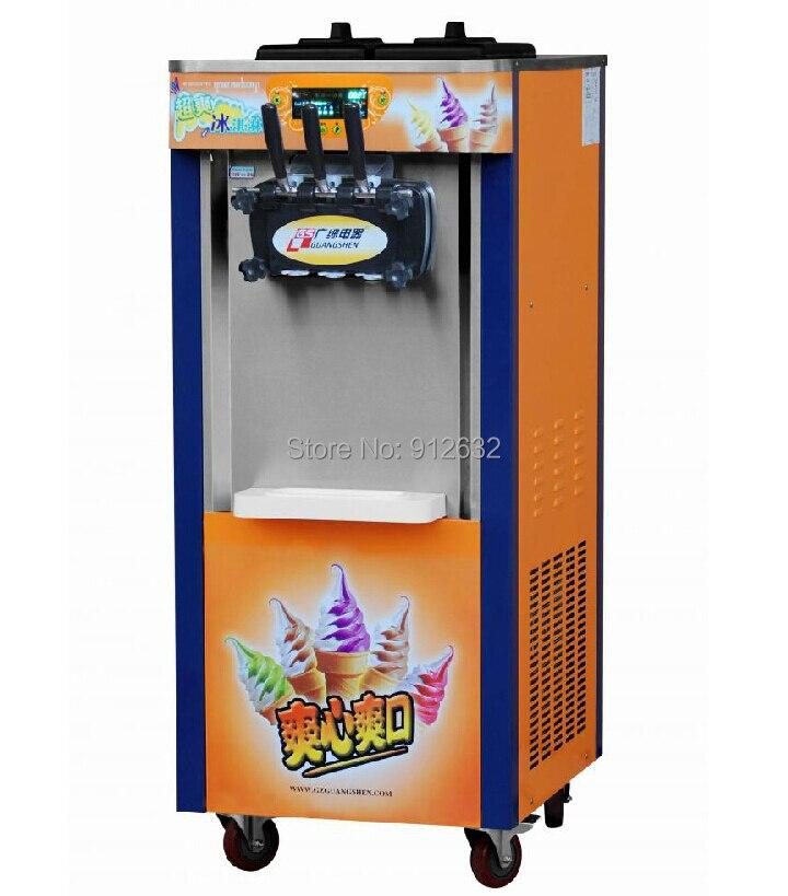 25-30l /h Hottest 3-color Soft Ice Cream Machine Manufacturer Icecream Maker Machine