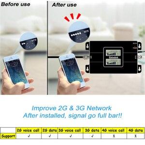 Image 5 - Lcd scherm Gsm 900 W Cdma 2100 Mhz Dual Band Signaal Repeater 2G 3G Umts 65dB Mobiel cellular Signaal Versterker Set 31