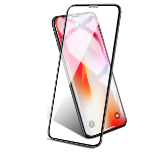 Image 2 - 2pcs/lot Full Cover Tempered Glass For iPhone X XS Max XR Screen Protector Anti Blue light Glass For iPhone X XS XR Glass Film