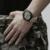 Deporte de Los Hombres Relojes de Marca de lujo de Estilo Militar Del Ejército de Cuarzo Reloj Analógico NAVIFORCE Tela Correa Relojes de Pulsera Fecha Impermeable LX57