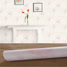 Pastoral style non-woven wallpaper classic wall paper roll 6 color wallcovering luxury wallpaper floral papel de parede V1 romantic pastoral small flowers wallpaper non woven floral mural papel de parede bedroom wall paper for walls home decor jr057