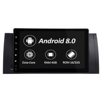 1024x600 HD Сенсорный экран 1 din Android 8,0 Автомобильный мультимедийный Радио стерео для BMW E39 E53 X5 Wi Fi 3g 4G Bluetooth dvd плеер RDS USB