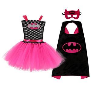 Image 2 - Vestido de tutú hecho a mano para niños, tutú de Ballet esponjoso, conjunto de disfraz de Halloween, Dresses2 10Y de fiesta de cumpleaños