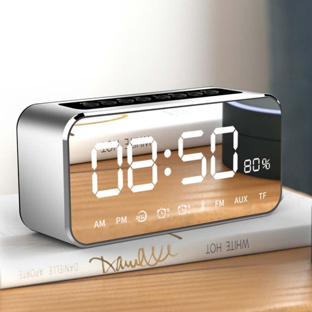 E5312-Mini FM Radio-silver