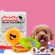 Summer Dog Cat Anti-Flea Collars Outdoor Anti Lice Pest Anti-Mosquitoes Kill Parasite Deworming for Small Medium Pets