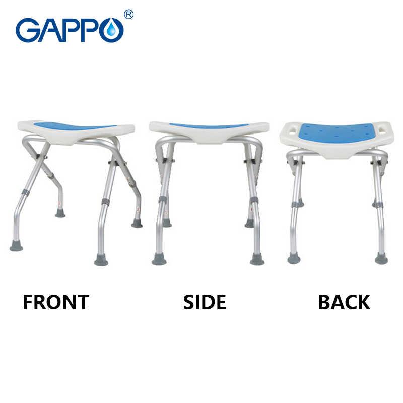 GAPPO настенный душ мест тренер для ванной Регулируемый Туалет складной ванная комната Унитаз сидение для ванны
