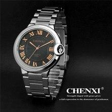 Luxury Brand Rome Dial Steel Watch Quartz Men's Women' Wristwatch Clock Male Men Ladies Watch Waterproof Relogios Masculinos