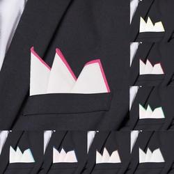 Модные хлопковые карманные квадратные белые костюмы Hanky Твердые носовые платки повседневный костюм квадратный платок полотенца для