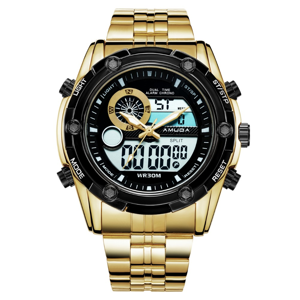 AMUDA Fashion Sport Watch Men Quartz Wristwatches Auto Date 30M Waterproof Clocks Relogio Masculino Male Brand Watches AM5008 стоимость