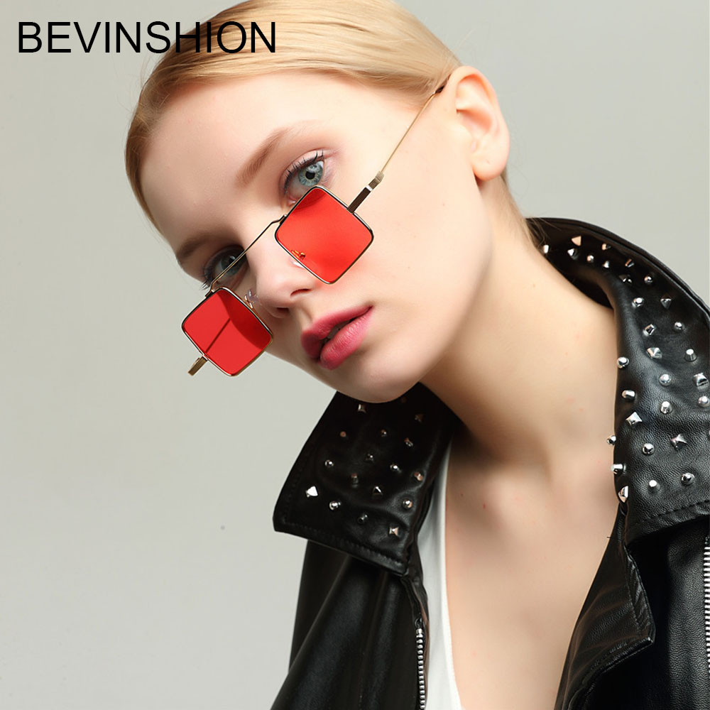 vintage retro female Red Bow tie clear lens Sun-GLASSES