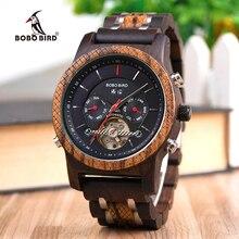 BOBO BIRD Wood Watches Men Mechanical Watch