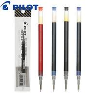 12 шт./лот пилот BLS-G2-5 0,5 мм гелевые чернила заправка подходит для BL-G2 гелевая ручка оригинальная офисная и школьная канцелярская оптовая прод...