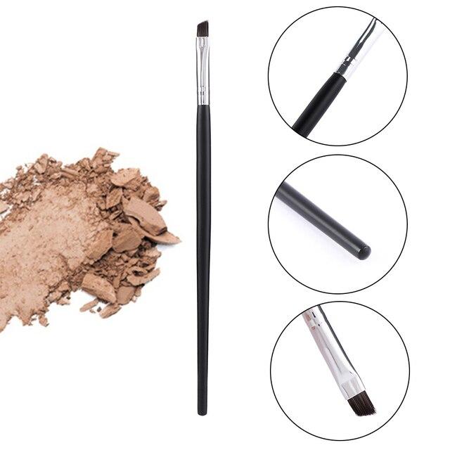 Angled Eyebrow Brush Gel Eyeliner Brush Makeup Brushes Beauty Blending Eye Professional Make Up Bevel Brush Tools for Eye Brow 2