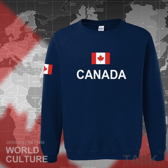 Canada 2017 hoodies men sweatshirt sweat new streetwear clothing jerseys footballer tracksuit nation Canadians flag fleece CA 2