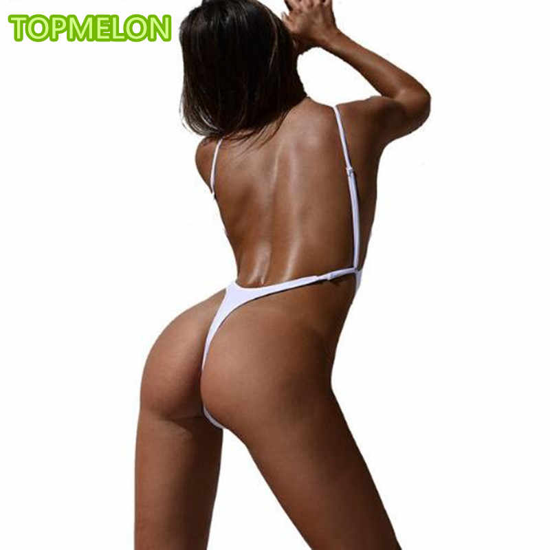 5fff01863 Detail Feedback Questions about Thong Swimsuit One Piece Swimwear Tanga  2019 Swimsuits Bathing Suit Women Womens Swim Suit May Sexy High Cut G  String ...