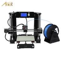 High Precision Anet A6 A8 Desktop 3d Printers Reprap I3 DIY 3D Printer Kit With Free