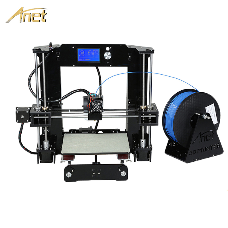 Anet A6 A8 3d printer High precision 0.4mm nozzle Reprap prusa i3 DIY 3D Printer Kit imprimante 3D With 10m PLA Filament SD Card 2017 newest ender 2 3d printer diy kit mini printer 3d machine reprap prusa i3 tarantula 3d printer 3d with filament a6 a8
