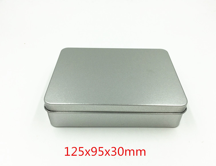 Size: 125x95x30mm gift metal box tin case gift card tin box jewel case casket box