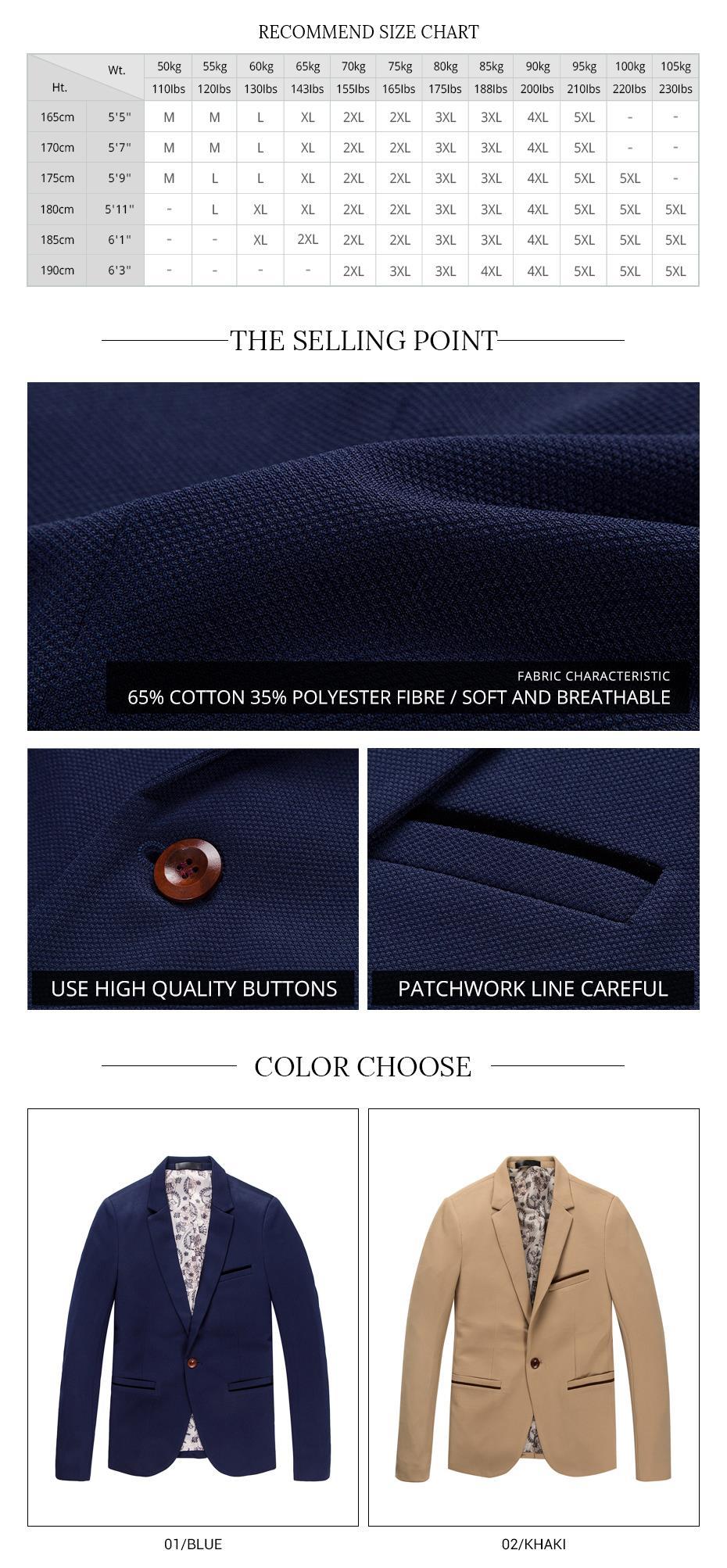 c2bd8b3f9a0 2019 Wholesale 2017 New Fashion Brand Unique Mens Blazer Men Single ...