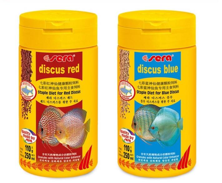 JFENGLI SERA Discus Fish Food Pigeon Blood Discus Blue Discus Food