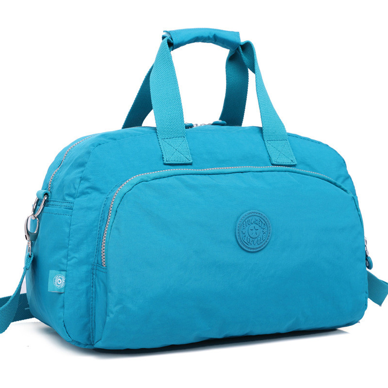 TEGAOTE Latest Style Women's Travel Bag Zipper Luggage Travel Duffle Bag Large Capacity Male Female Portable Weekend Travel Tote