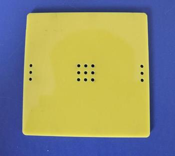 Model base plastic chassis for diy table lamp fan frame remote control shell image