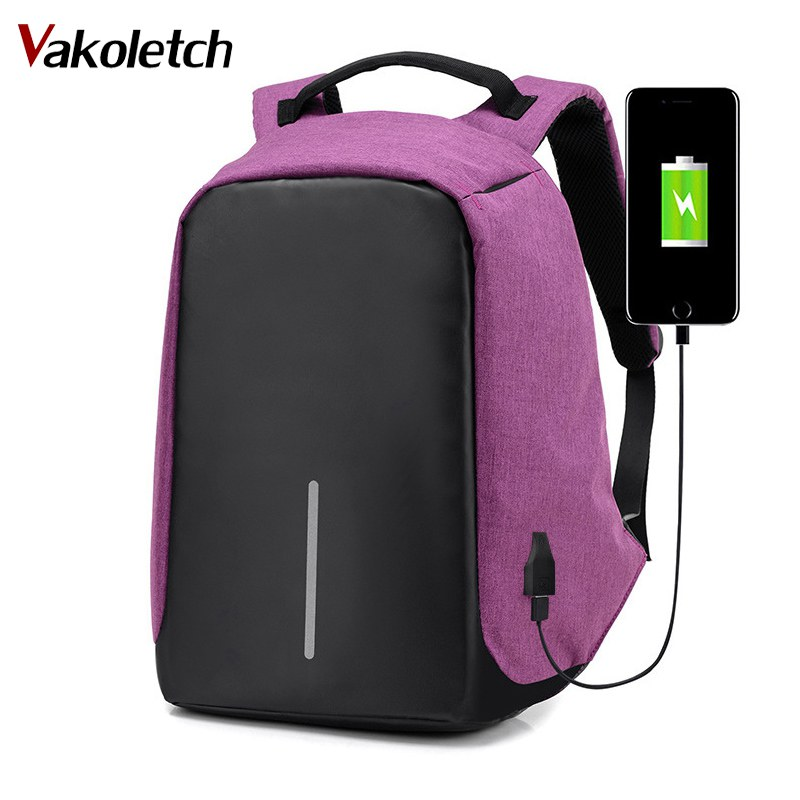 High Quality Men Backpacks Oxford Anti Theft Backpack Women Bag USB Charge 15Inch Laptop Mochila Waterproof Travel SAC KL149 sopamey usb charge men anti theft travel backpack 16 inch laptop backpacks for male waterproof school backpacks bags wholesale