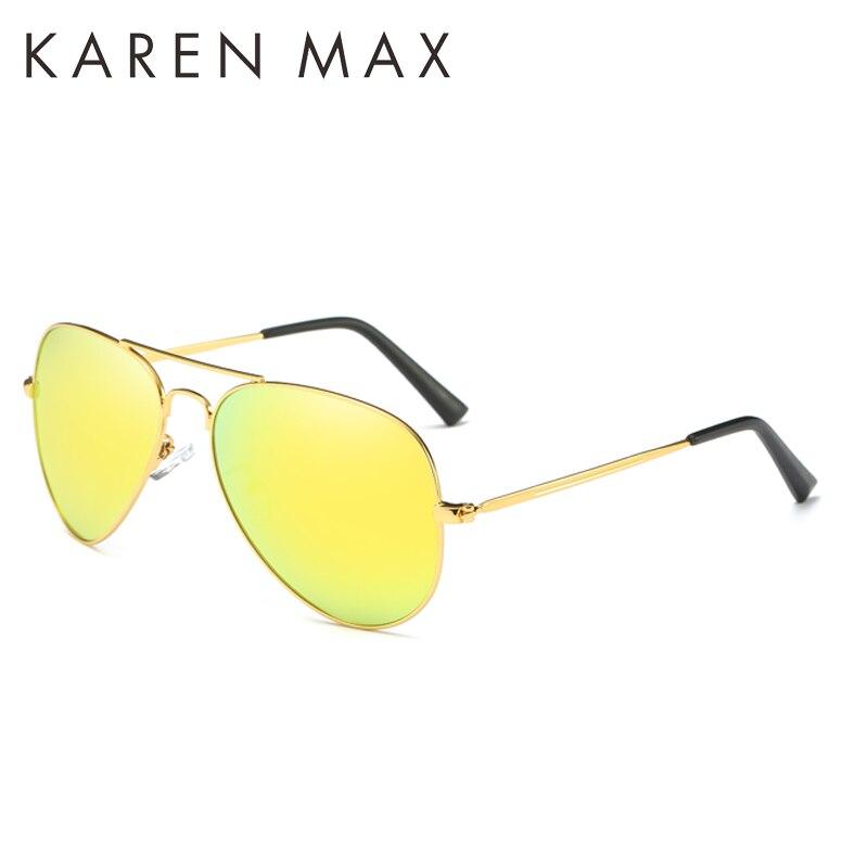 KAREN MAX 2017 NEW Fashion Sunglasses man pilot glasses for driver holiday outdoor font b men