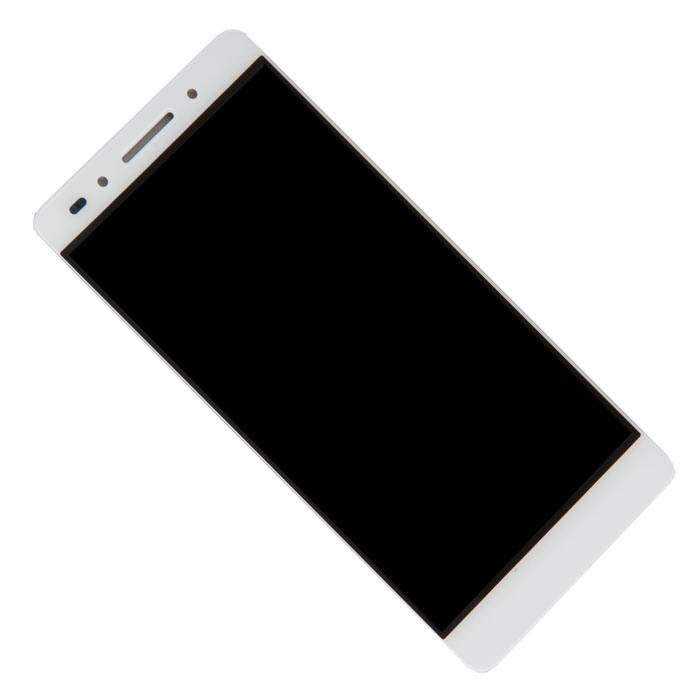 ФОТО display assembly with touchscreen for Huawei for Honor 7 white