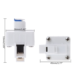 """1/4"""" Low Pressure Quick Reverse Osmosis Contact Switch Water Booster Pump Switch(China)"""