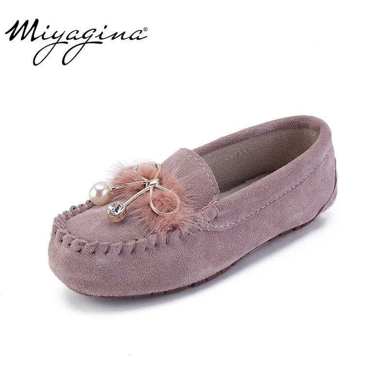 MIYAGINA enfants chaussures filles en cuir véritable souple mocassins bébé baskets printemps été enfants chaussures décontracté appartements mocassins