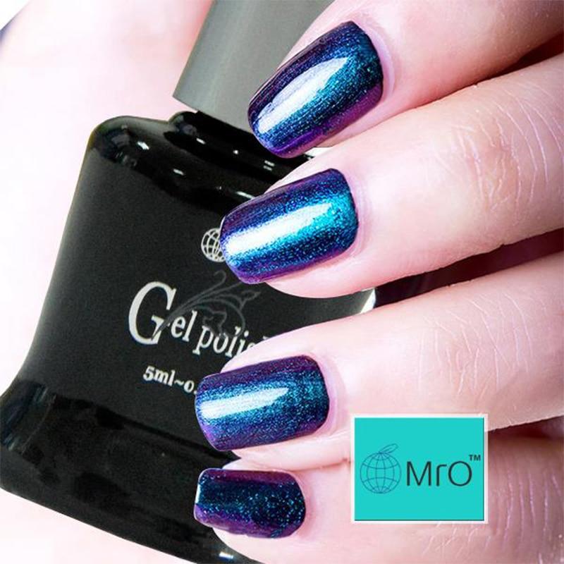 Nail Polish Different Colors: MRO Chameleon Gel Nail Polish 5ml UV Gel Polish Different