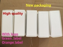 50pcs/lot With packaging 100% Genuine Original headset in ear headphones earphone Remote Mic for Foxconn i7 8 X XR MAX 6