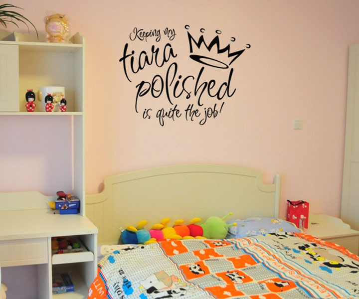 For Sale Keeping My Tiara Polished Is Quite The Job Kids Wallpaper ...