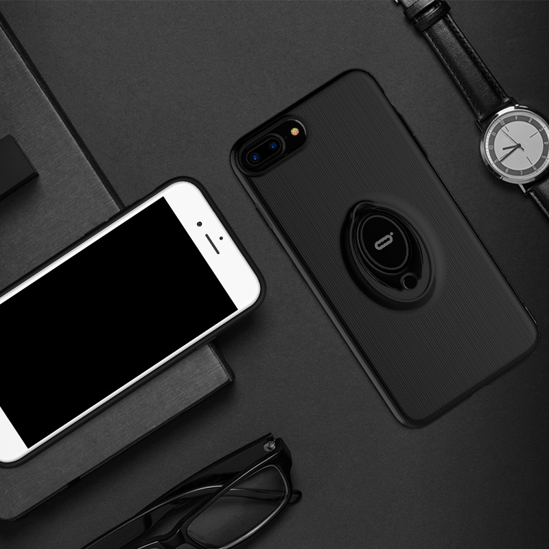 ICONFLANG Solid color For Apple iPhone 7 Case For iPhone 7 Plus Case Slim Hard PC Back Full Protective Cover Case For 7p
