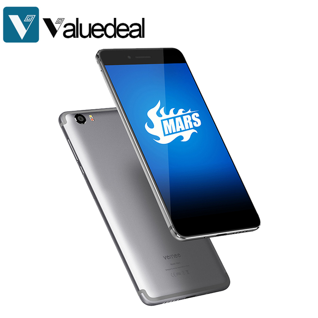 """New Vernee Mars 4G LTE Mobile Phone Android 6.0 MTK6755 Helio P10 Octa Core 4GB+32GB 13MP Fingerprint 5.5"""" Inches FHD Smartphone"""