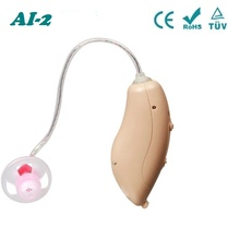 Acosound AI-2 Mini RIC Pocket Hearing Aids Volume Adjustable Sound Amplifiers For Severe Hearing Loss Hearing Aid With Earplugs все цены