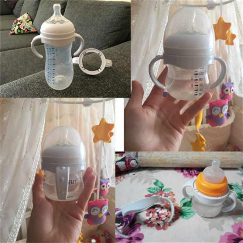 Akcesoria dla dzieci chwyt ręczny do butelka do karmienia uchwyt do Avent naturalne szerokie usta PP szklane butelki do karmienia dziecka uchwyt do butelek