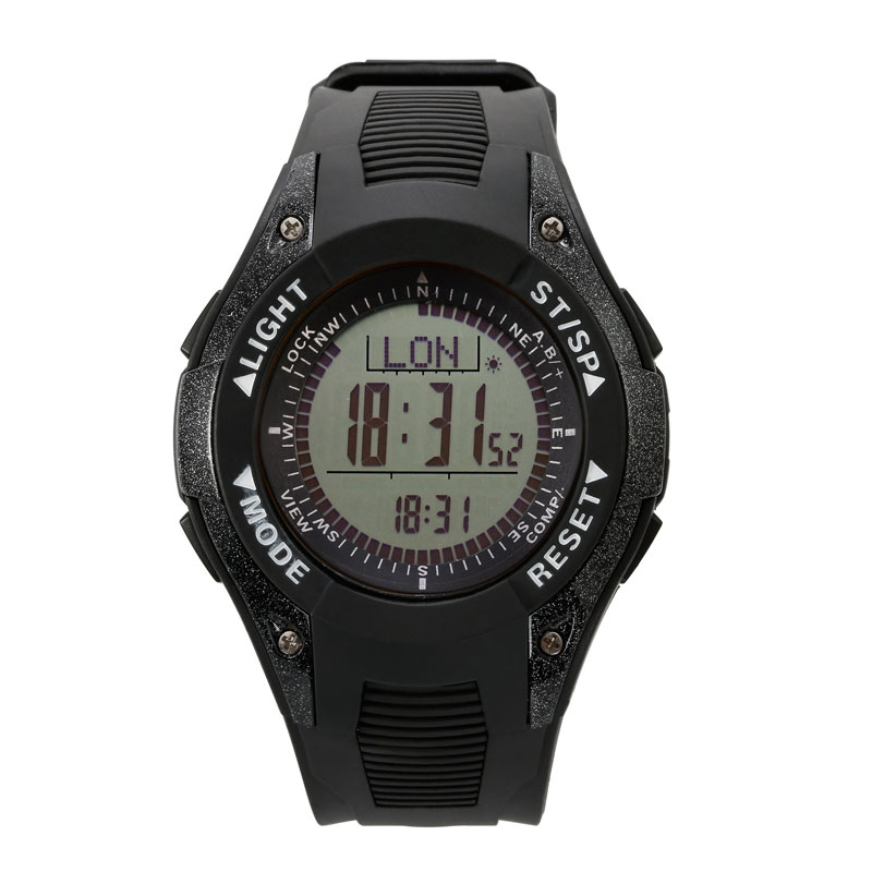 SUNROAD FR8202A Multifunction Watch Men-Altimeter Barometer Sport Mens Watches Thermometer Weather Forecast Digital Wristwatch sunroad digital sport men watch fr820a 3atm waterproof fishing barometer altimeter watch weather forecast clock yellow men watch