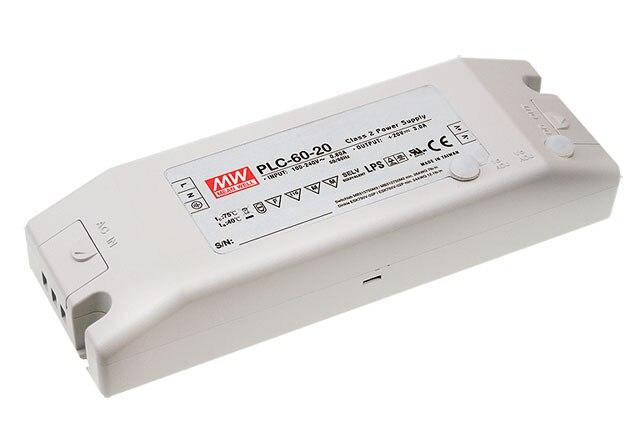 все цены на  [PowerNex] MEAN WELL original PLC-60-24 24V 2.5A meanwell PLC-60 24V 60W Single Output LED Power Supply  онлайн