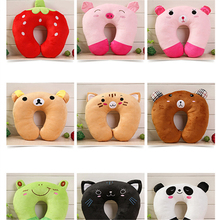2019 Sale Oreiller Dakimakura New Cartoon U-shaped Pillow Neck U-pillow Cervical Nap Cute Panda Pig Tiger For Cat Shape Accesso
