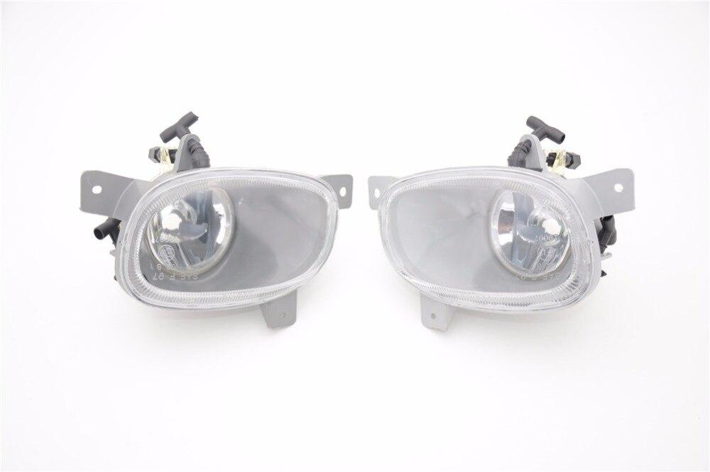 1 пара слева и справа прозрачные линзы передний бампер Противотуманные фары свет без лампа для Вольво S80 1999-2006