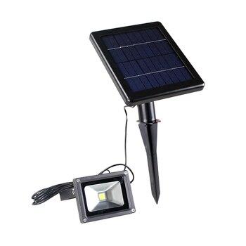 LAIDEYI High Power LED Solar Light Outdoor Security Waterproof Spot Lighting Light-Control Wall Lamps Outdoor Flood Light