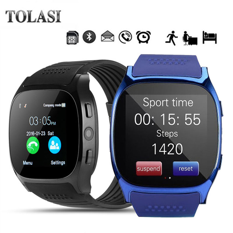 2018 New Bluetooth Smart Watch With Camera Facebook Whatsapp Support SIM TF Card Call Smartwatch