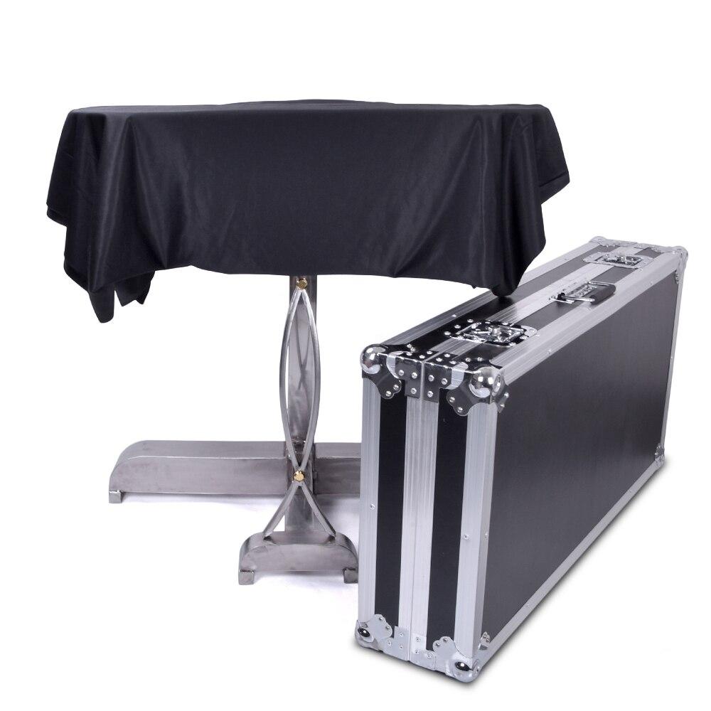 Tapis lévitation illusion tours de magie amusant scène Magia mentalisme Illusion Gimmick accessoires lévitation sur Table mouche flottante Magia