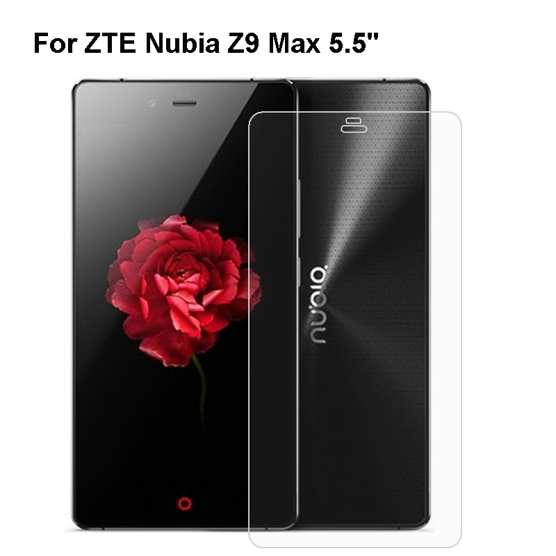 GzPuluz Glass Protector Film 100 PCS 0.26mm 9H 2.5D Tempered Glass Film for ZTE Nubia Z17